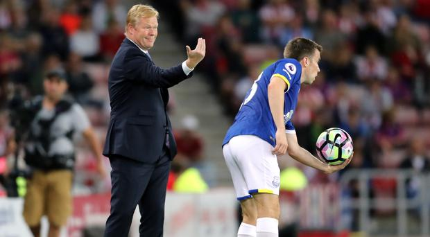 Ronald Koeman has guided his side to third place in the league
