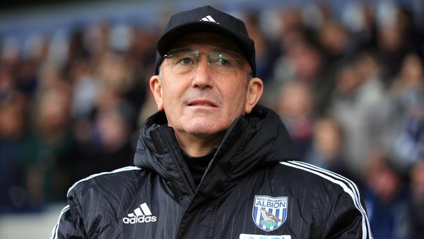 Tony Pulis watched QPR's heavy defeat to Newcastle