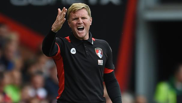 Bournemouth manager Eddie Howe, pictured, admires Pep Guardiola for the impact he has had at Manchester City