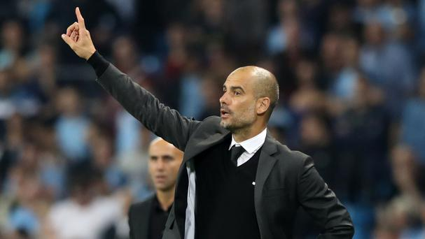 Manchester City manager Pep Guardiola is demanding improvement from his side