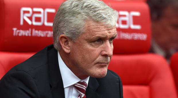 Mark Hughes' Stoke have collected just one point from four games so far this season