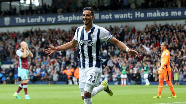 Nacer Chadli scored twice as West Brom cruise to a 4-2 victory over West Ham