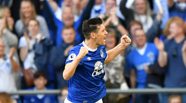 Gareth Barry scored on his 600th Premier League appearance to help Everton to a 3-1 victory over Middlesbrough