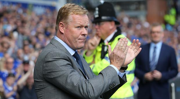 Everton manager Ronald Koeman was pleased with his side's character in the 3-1 win over Middlesbrough