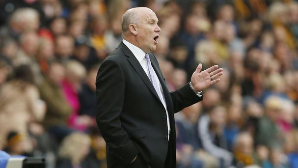 Mike Phelan, pictured, has been in temporary charge at Hull since Steve Bruce's exit