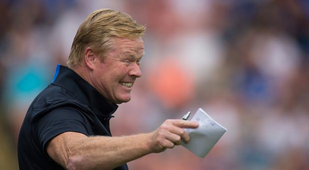 Everton's players fear manager Ronald Koeman, pictured, according to captain Phil Jagielka