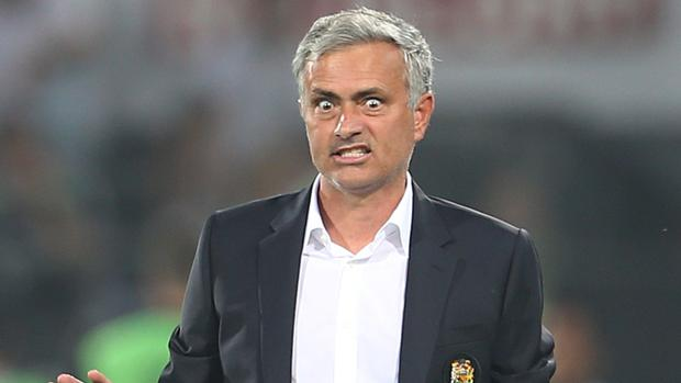 Jose Mourinho saw his side lose a third game in a row with defeat at Watford on Sunday