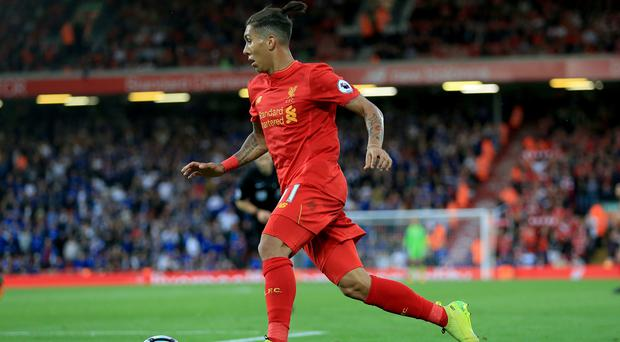 Liverpool forward Roberto Firmino is fit to rejoin the squad for the EFL Cup tie at Derby