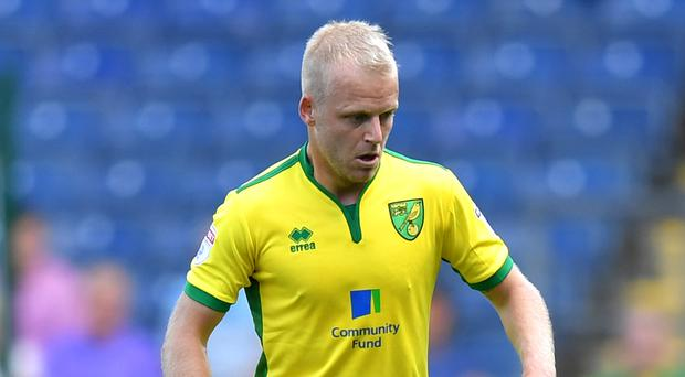 Steven Naismith scored for Norwich at former club Everton