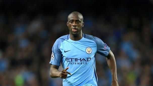 Yaya Toure of Manchester City