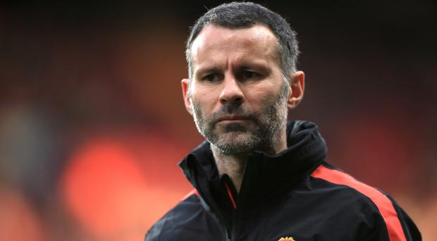 It has emerged that Swansea City have approached Ryan Giggs about becoming their new manager. Photo: PA