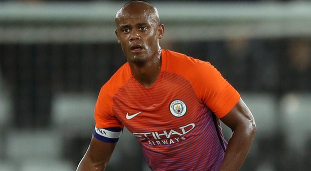 Vincent Kompany's impressive comeback against Swansea ended worryingly as he went off injured in stoppage time