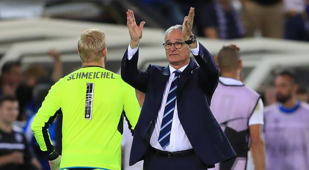 Claudio Ranieri's Leicester side face Manchester United on Saturday