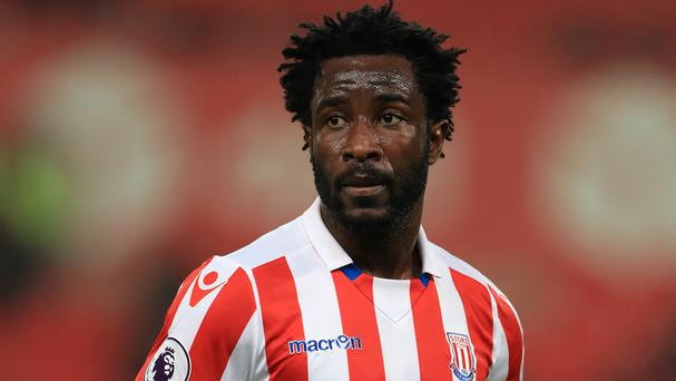 Wilfried Bony joined Stoke on loan from Manchester City on transfer deadline day last month