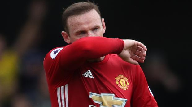 Manchester United captain Wayne Rooney is a man under scrutiny