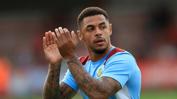 Burnley striker Andre Gray Picture: PA