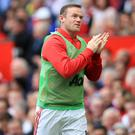 Wayne Rooney was left out of the starting line-up for Manchester United's victory over Leicester