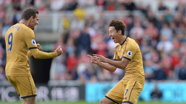 Tottenham's Son Heung-min is getting in the groove