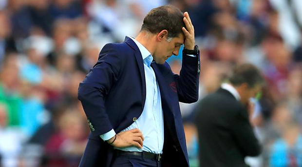 Slaven Bilic and West Ham endured another difficult afternoon at the London Stadium