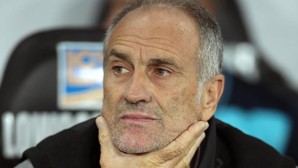 Francesco Guidolin is under pressure at Swansea