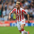 Marko Arnautovic is set to make his 100th appearance for Stoke