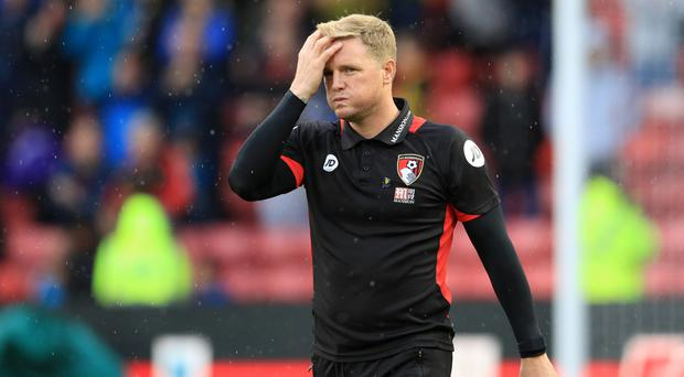 Bournemouth manager Eddie Howe had to settle for a point