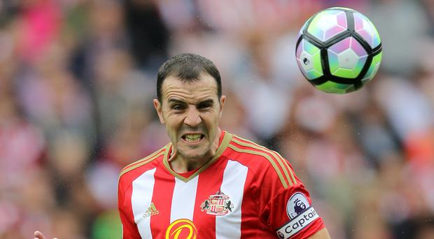 John O'Shea returned to the Sunderland team for Saturday's 1-1 draw with West Brom