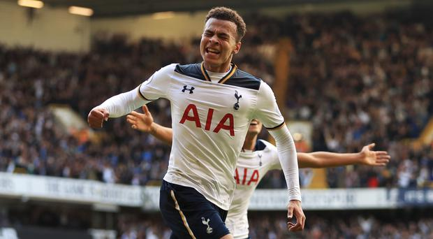 Dele Alli helped Tottenham end Manchester City's perfect start