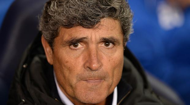 Juande Ramos saw his Malaga side pick up a late victory over Athletic Bilbao