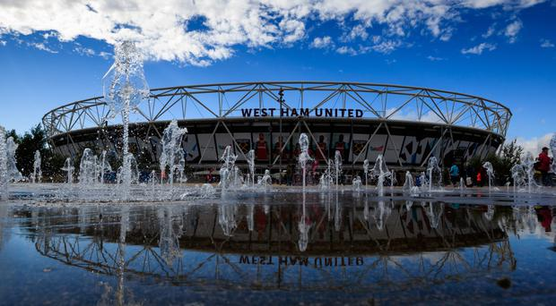 West Ham are playing their first season at London Stadium