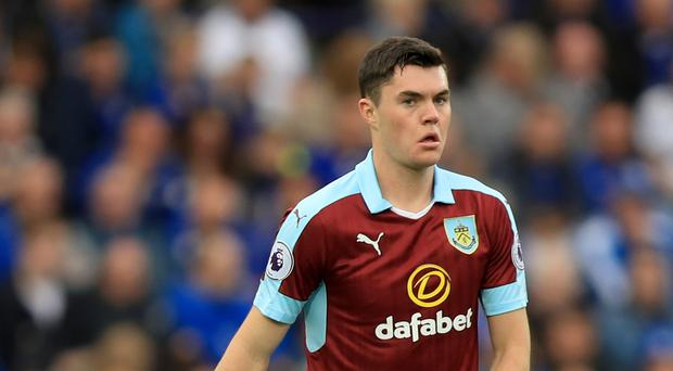 Burnley's Michael Keane has been called up by England.