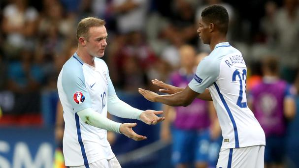 Marcus Rashford came on as a sub against Iceland (Getty)