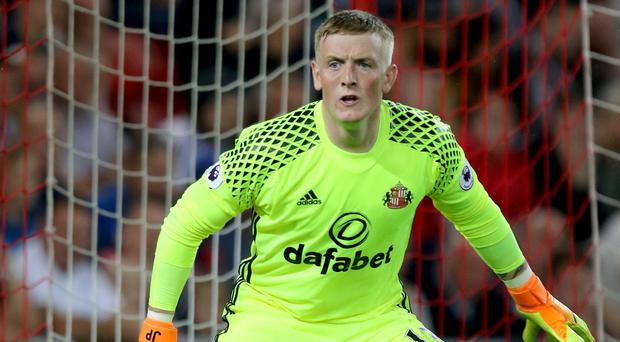 Jordan Pickford will join the England squad in Slovenia