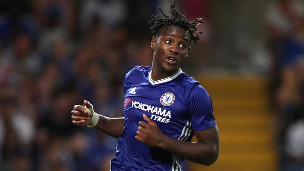 Chelsea's Michy Batshuayi has had a tough start to life at Stamford Bridge