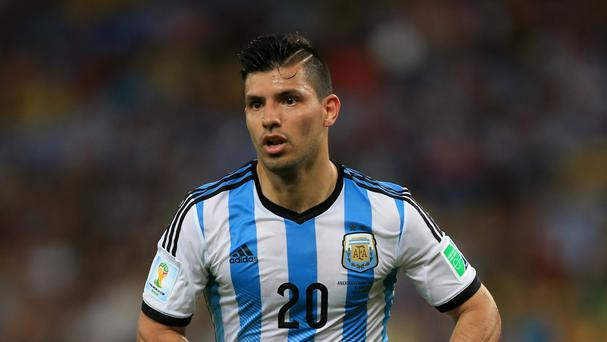 Sergio Aguero missed a penalty in Argentina's defeat