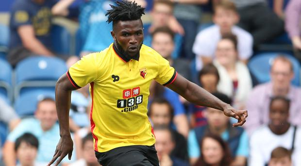 Isaac Success could make his first Watford start at Middlesbrough