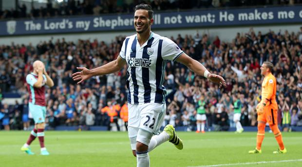 Nacer Chadli has made a bright start at West Brom