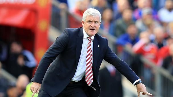 Mark Hughes' Stoke are still to win in the Premier League this season