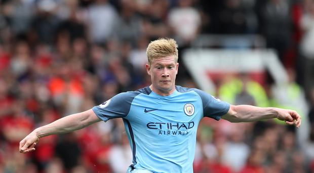 Statistics show Manchester City fare better with Kevin De Bruyne in the team