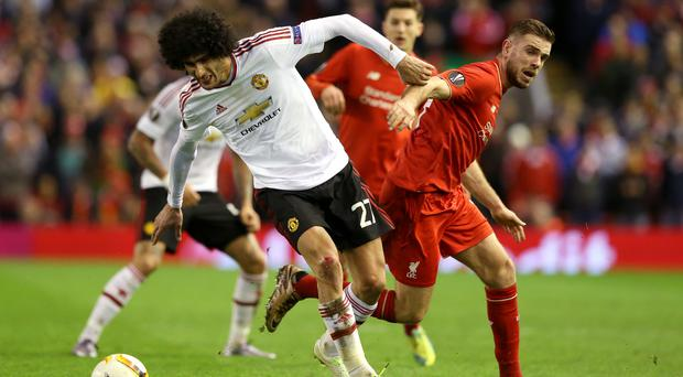 Liverpool and Manchester United meet at Anfield on Monday night