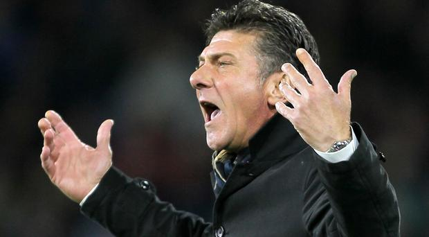 Watford manager Walter Mazzarri will demand an improved away display at Middlesbrough, following the loss at Burnley