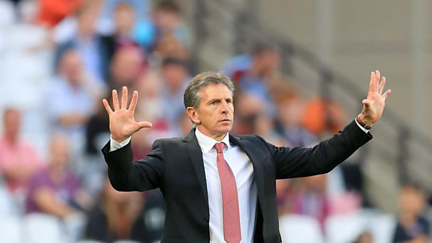 Claude Puel's Southampton host Burnley in the Premier League on Sunday.