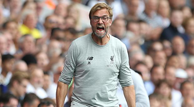 Liverpool manager Jurgen Klopp enjoys the fiery nature of a Merseyside-Manchester clash