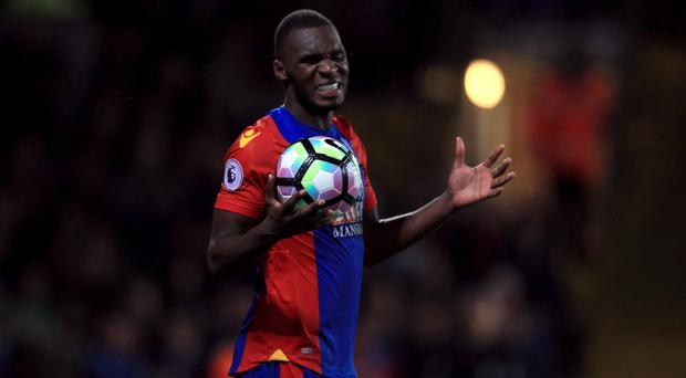 Christian Benteke missed a golden opportunity to equalise for Crystal Palace