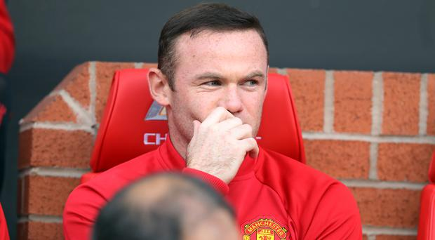 Manchester United's Wayne Rooney could be on the bench again at Anfield