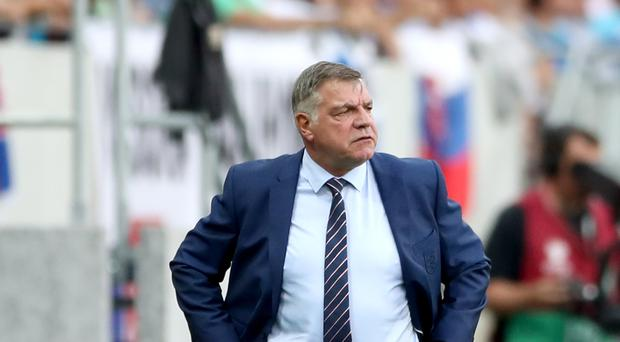 Sam Allardyce was in charge for just one game as England manager