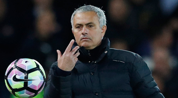Jose Mourinho plays the percentages while searching for a long-term plan Photo: Reuters