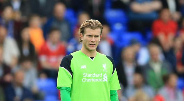 Goalkeeper Loris Karius believes Manchester United's tactics in the goalless draw paid Liverpool a compliment