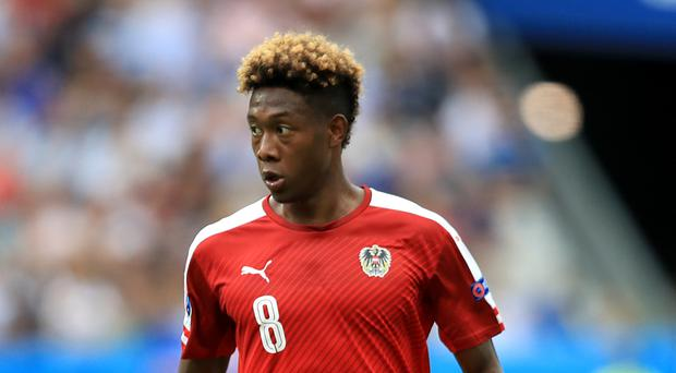 David Alaba has been linked with a move to the Premier League