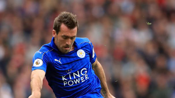 Christian Fuchs has signed a new deal with Leicester